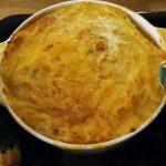 Photo of chicken, leek and mushroom pie