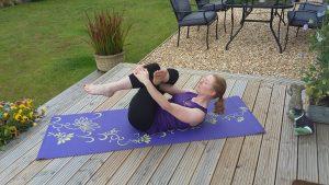 Rosefit piriformis stretch photo