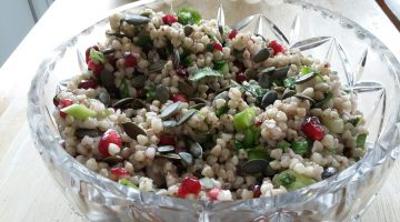 Buckwheat and Pomegranate Salad