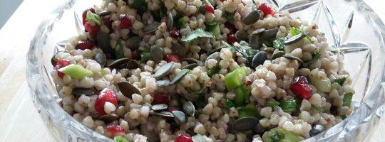 Buckwheat and Pomegranate Salad