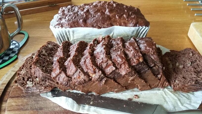 Photo of chocolate banana bread