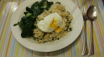 Smoked Haddock Risotto with poached egg